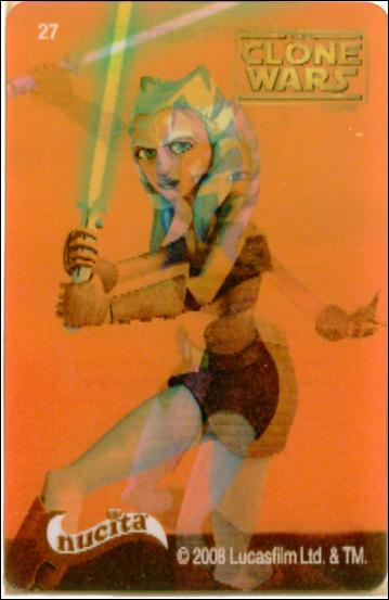 Star Wars The Clone Wars Nucita Motion Cards (Promo) 27-A by Lucasfilm Ltd.