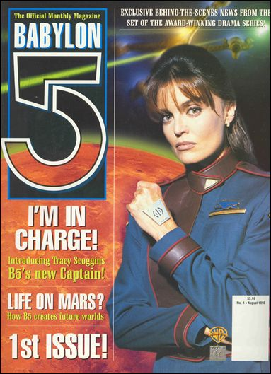 Official Babylon 5 Magazine (1998) 1-A by Titan Magazines