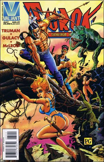 Turok: Dinosaur Hunter (1993) 31-A by Valiant