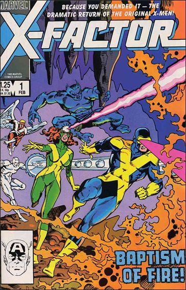 X-Factor (1986) 1-A by Marvel