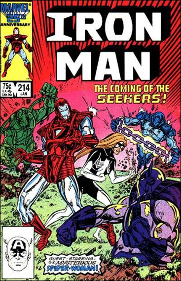 Iron Man (1968) 214-A by Marvel
