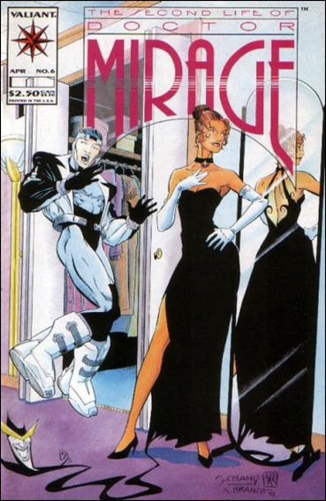 Second Life of Doctor Mirage 6-A by Valiant
