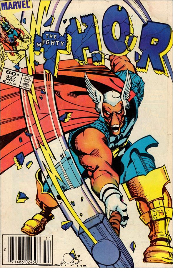 Thor (1966) 337-A by Marvel