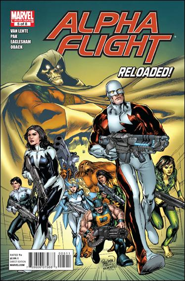 Alpha Flight (2011) 5-A by Marvel