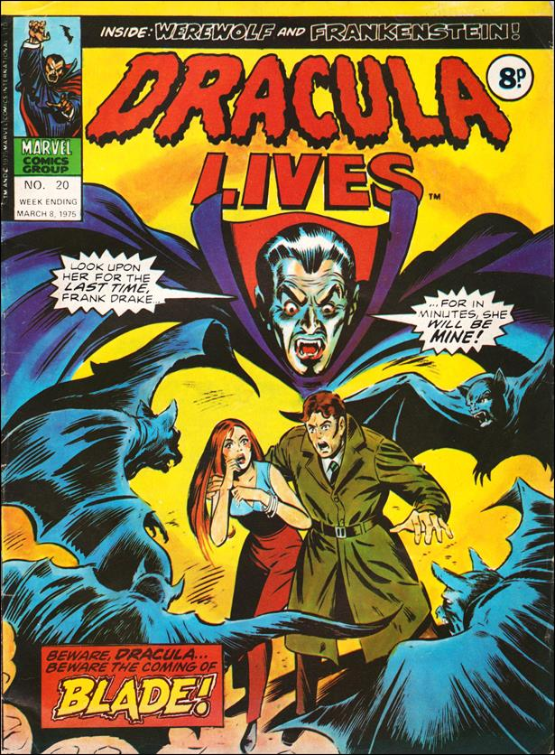 Dracula Lives (UK) 20-A by Marvel UK