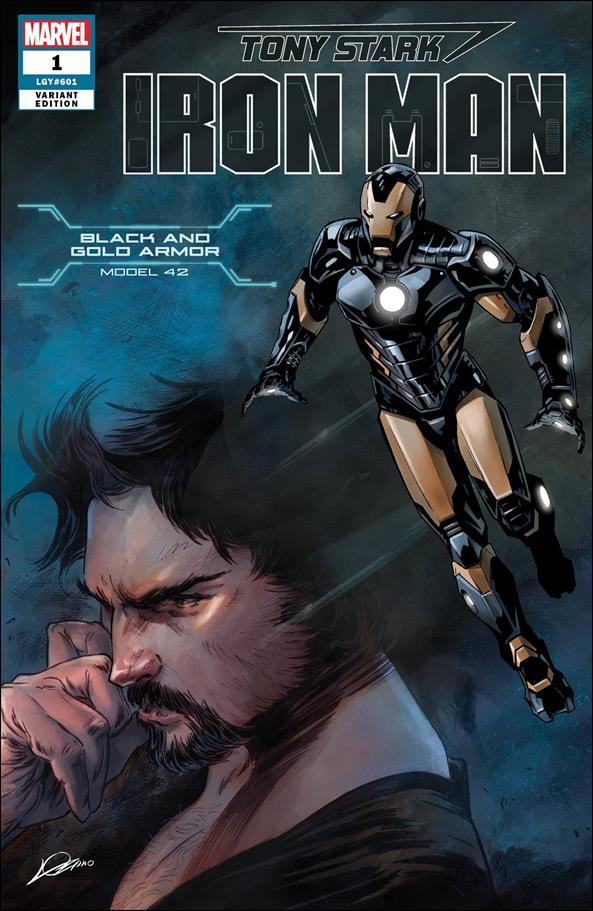 Tony Stark: Iron Man 1-BB by Marvel