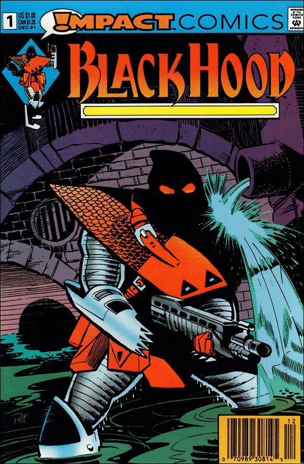 Black Hood (1991) 1-A by Impact Comics