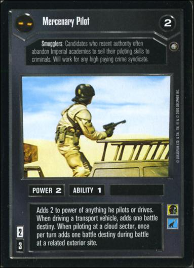 Star Wars: Jabba's Palace Sealed Deck (Base Set)1-A by Decipher