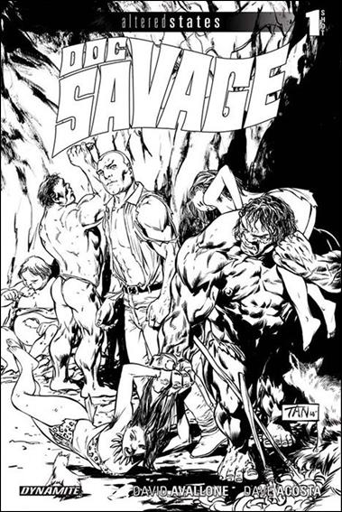 Altered States: Doc Savage nn-B by Dynamite Entertainment
