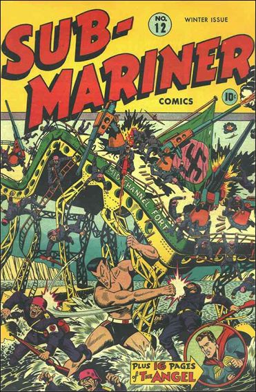 Sub-Mariner (1941) 12-A by Atlas