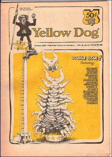 Yellow Dog 9-A by Print Mint