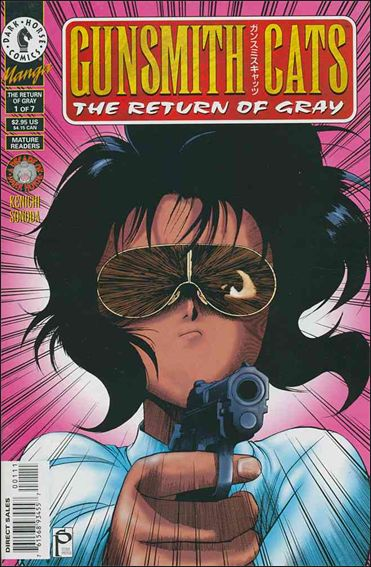 Gunsmith Cats: The Return of Gray 1-A by Dark Horse