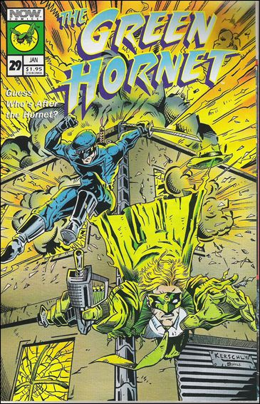 Green Hornet (1991) 29-A by Now Comics