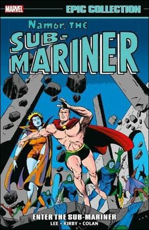 Namor the Sub-Mariner Epic Collection 1-A