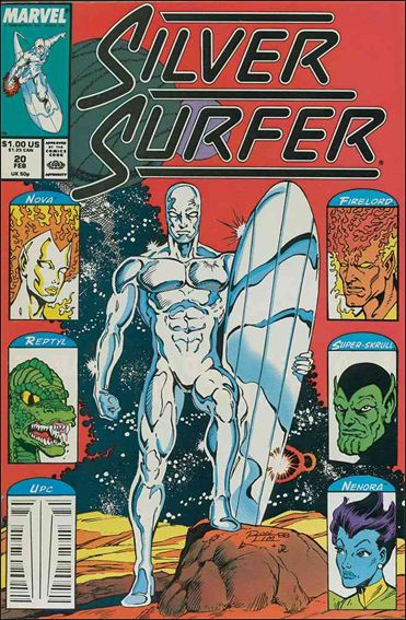 Silver Surfer (1987) 20-A by Marvel