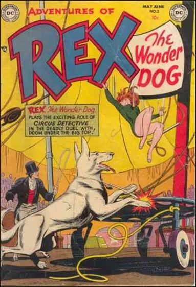 Adventures of Rex the Wonder Dog 3-A by DC