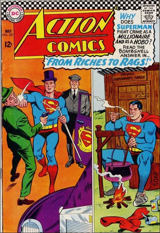 Action Comics (1938) 337-A by DC