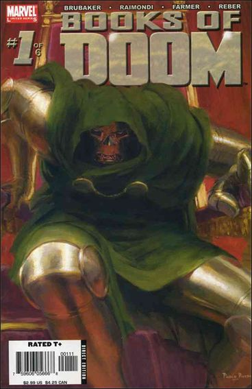 Books of Doom 1-A by Marvel