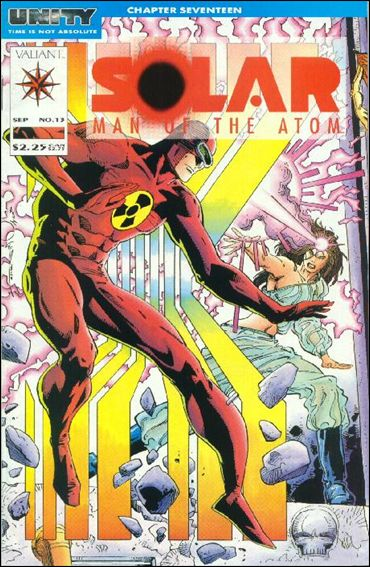 Solar, Man of the Atom (1991) 13-A by Valiant