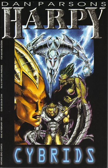 Harpy: Prize of the Overlord 2-A by Ground Zero Comics
