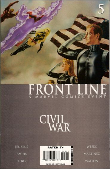 Civil War: Front Line 5-A by Marvel