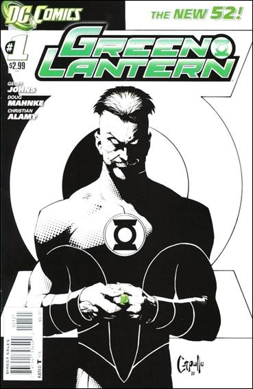 Green Lantern (2011) 1-B by DC
