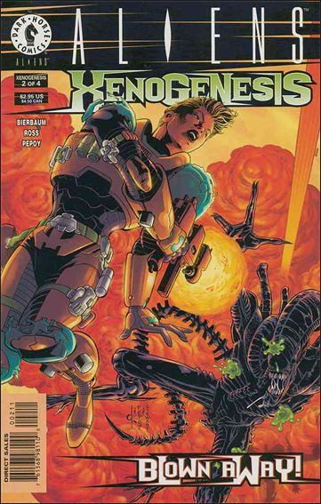 Aliens: Xenogenesis 2-A by Dark Horse