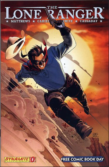 Lone Ranger (2006) 0-A by Dynamite Entertainment