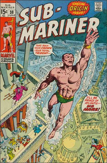 Sub-Mariner (1968) 38-A by Marvel