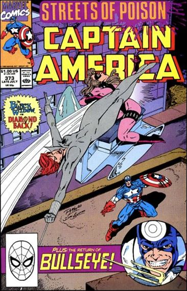 Captain America (1968) 373-A by Marvel