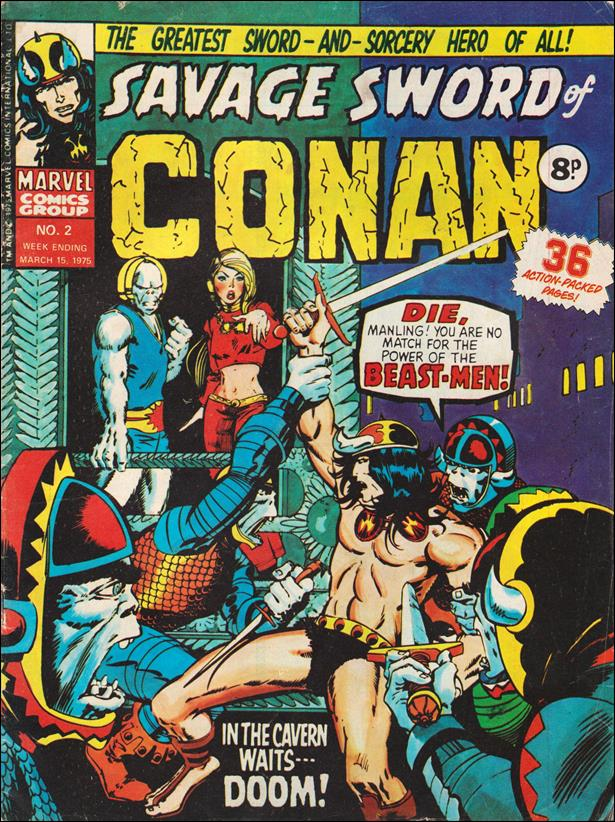 Savage Sword of Conan (UK) (1975) 2-A by Marvel UK