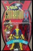 X-Men (Generation X) Banshee (Blue and Yellow Costume - Repaint)