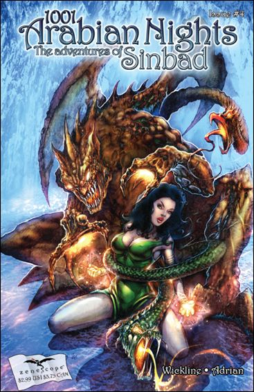 1001 Arabian Nights: The Adventures of Sinbad 4-C by Zenescope Entertainment