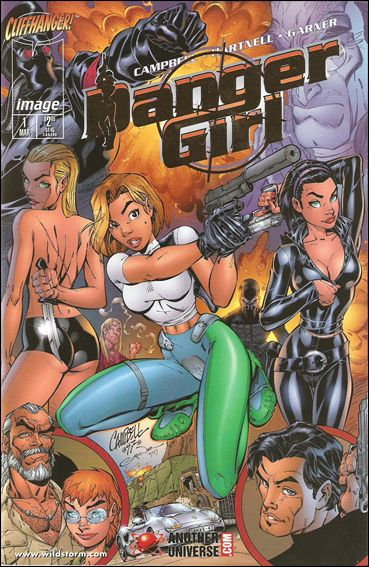 Danger Girl 1-E by Image