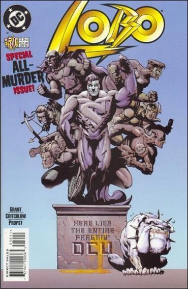 Lobo (1993) 50-A by DC