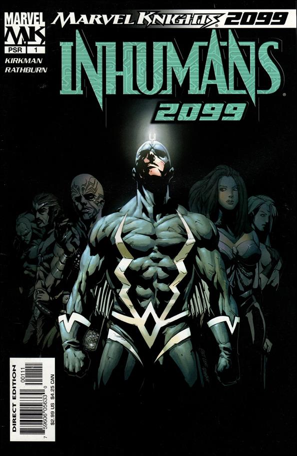 Inhumans 2099 1-A by Marvel