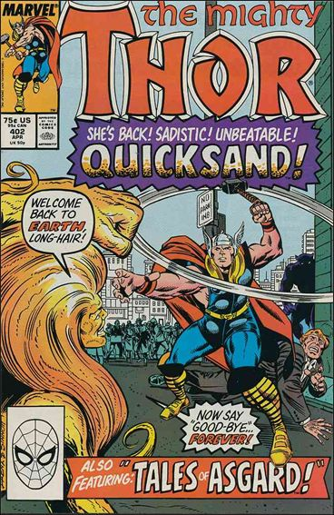 Thor (1966) 402-A by Marvel