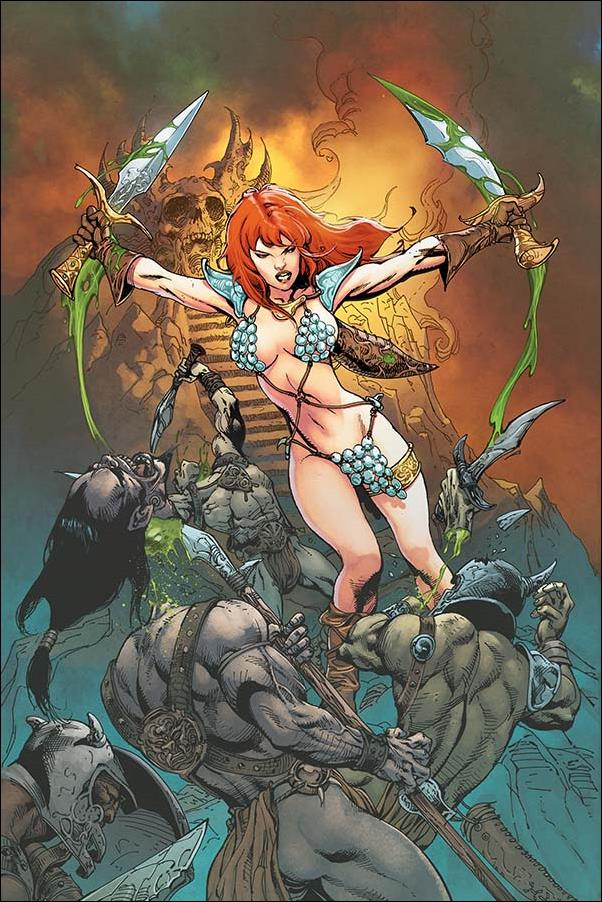 Red Sonja (2019) 7-J by Dynamite Entertainment
