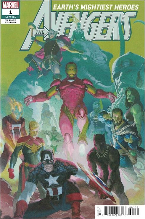 Avengers (2018/07) 1-F by Marvel