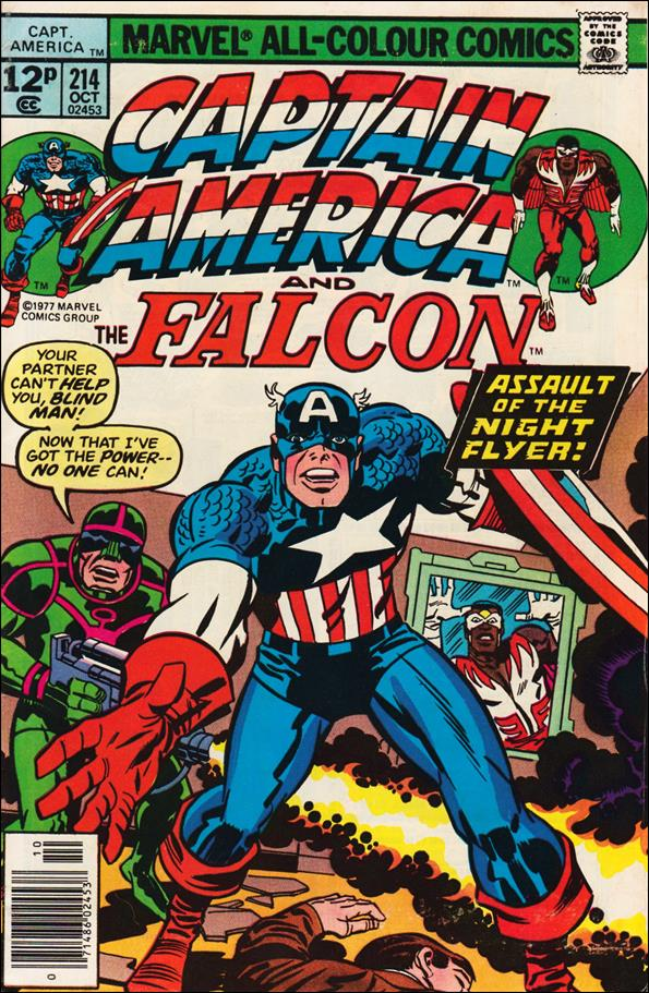 Captain America (1968) 214-C by Marvel