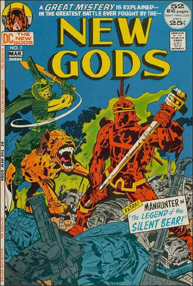 New Gods (1971) 7-A by DC