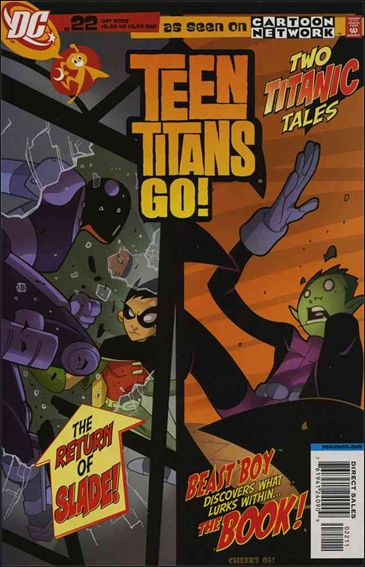 Teen Titans Go! (2004) 22-A by DC