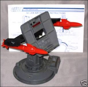 "G.I. Joe: A Real American Hero 3 3/4"" Basic Vehicles and Playsets Air Defense Battle Station"