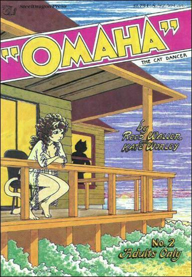 Omaha the Cat Dancer (1984) 2-A by Kitchen Sink
