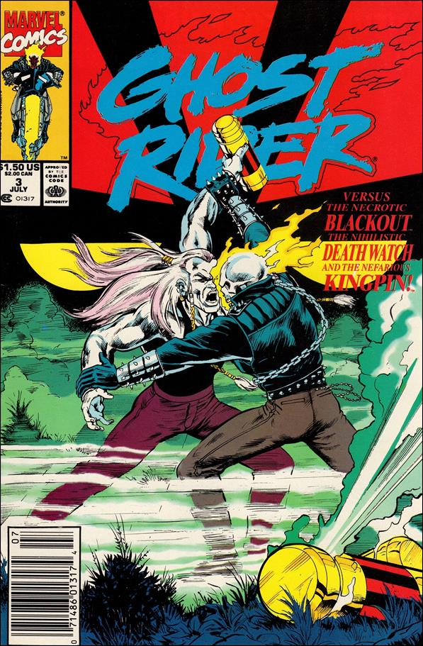 Ghost Rider (1990) 3-A by Marvel