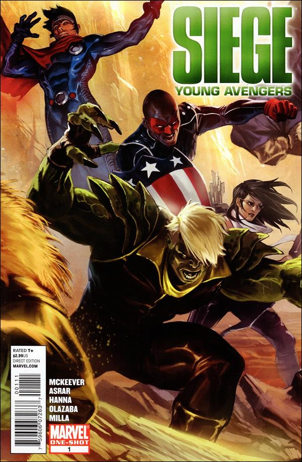 Siege: Young Avengers 1-A by Marvel