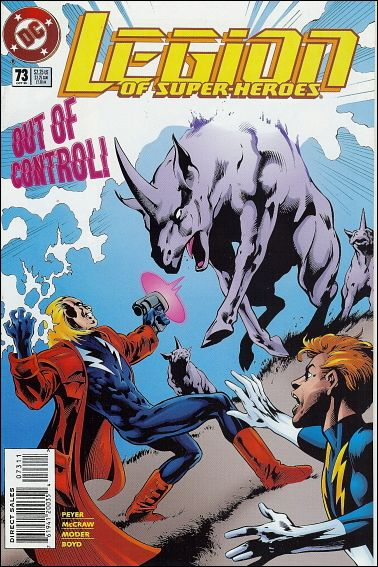 Legion of Super-Heroes (1989) 73-A by DC