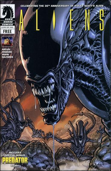 List of Aliens comics Alien Anthology