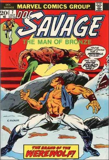 Doc Savage (1972) 7-A by Marvel