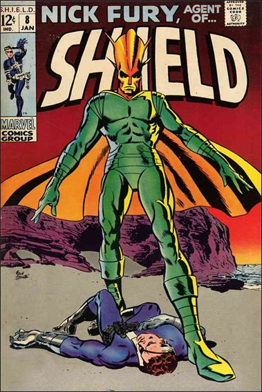 Nick Fury, Agent of S.H.I.E.L.D. (1968) 8-A by Marvel